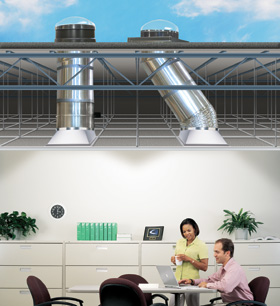 Best commercial sun tunnels industrial skylights in toronto for Sun tunnel light